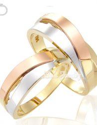 Cincin Kawin Emas Kuning 50% dan Perak 925